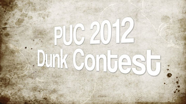 PUC Slam Dunk Contest 2012