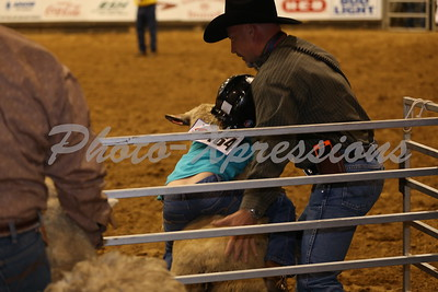 Mutton Bustin Tuesday