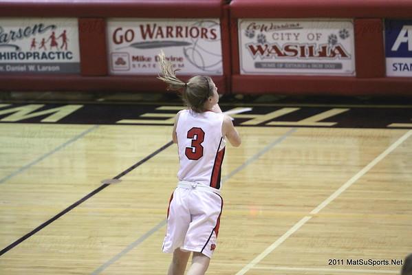Wasilla Vs. West Valley G JV 2-18-2011