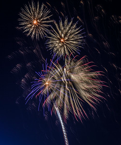 Suisun 4th of July Fireworks 2014