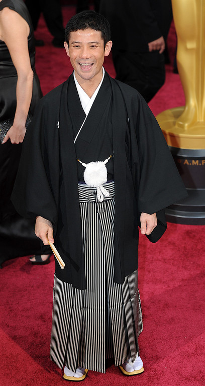 . Shuhei Morita attends the 86th Academy Awards at the Dolby Theatre in Hollywood, California on Sunday March 2, 2014 (Photo by John McCoy / Los Angeles Daily News)