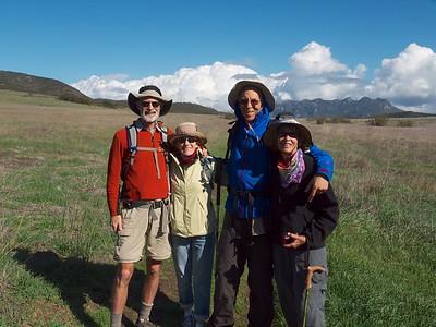 Mugu Peak Hike. Jan.  2013