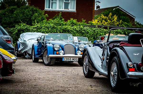 Allon White Sports Cars Breakfast Club
