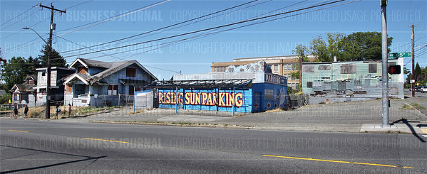 The $3.5 million fine owned by Hugh Sisley for the ramshackle properties on the Northwest corner of 65th Street and Roosevelt Way was paid to the City of Seattle today