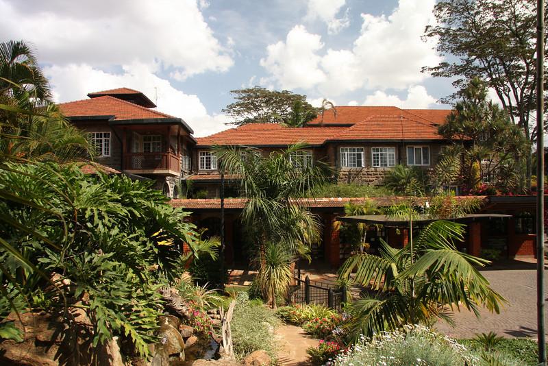 The lovely Fairview Hotel, Nairobi