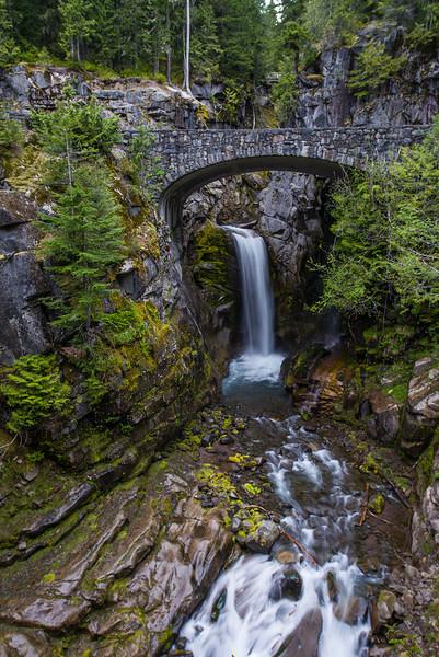 Christine Falls, Mount Rainier NP, Washington State