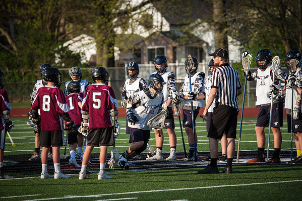 HyLax 8th Boys vs Rocky River