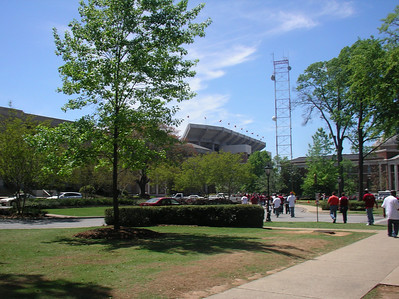 Alabama Football A-Day, April 12 2008