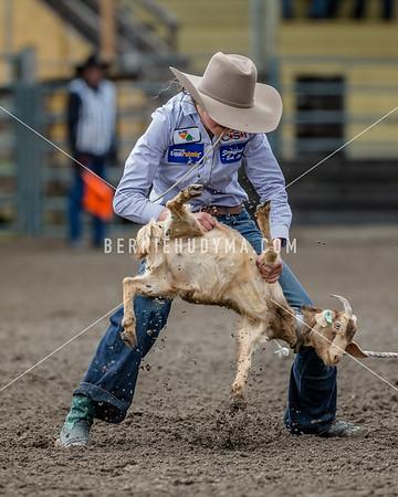 Goat Tying- Sunday  BCHSRA Finals