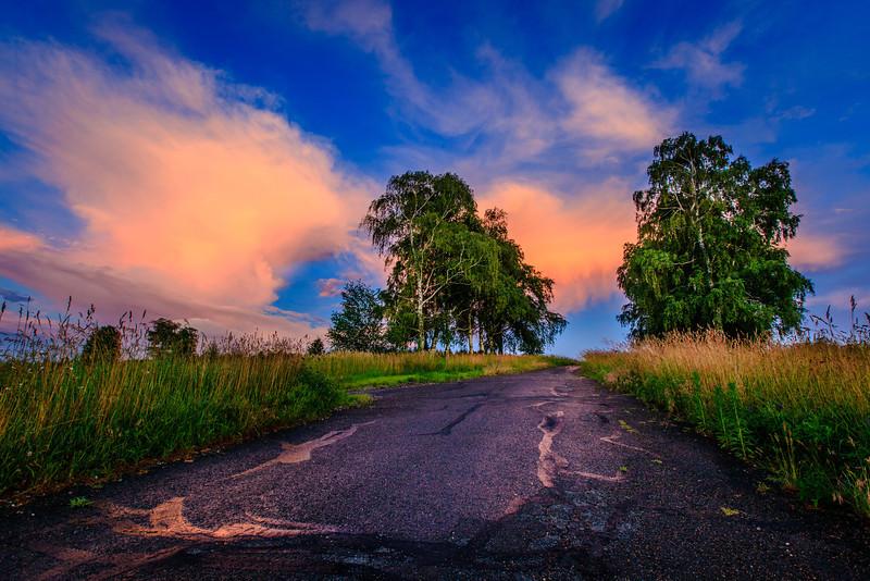 Sunset in Shelton
