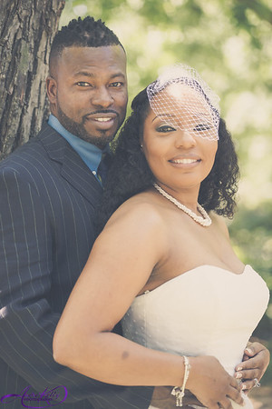Leronne & Shawn Charles Wedding Day