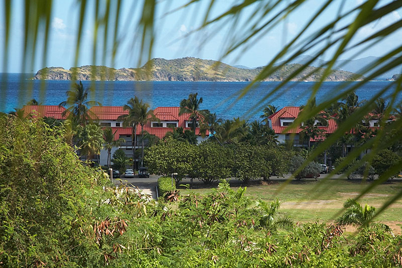 The Sapphire Beach Resort on St. Thomas.