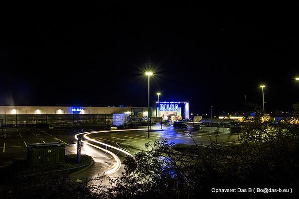 Sønderborg om natten