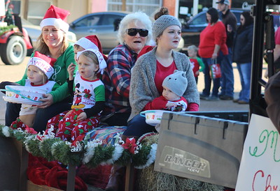 2019 Timpson Christmas Parade - Saturday, Dec. 14