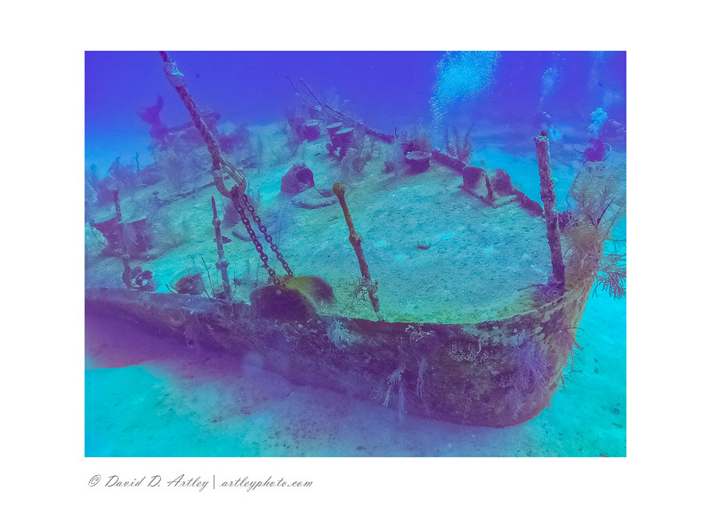 Wreck of the Oro Verde, off 7 Mile Beach, Grand Cayman Island