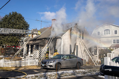 4th Ave. Fire (Milford, CT) 1/29/21