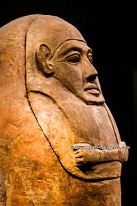 Jerusalem - Israel Museum -  Sarcophagi Exhibit