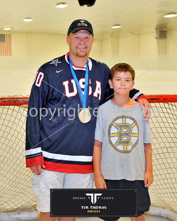 Individual and Group Photos with Tim Thomas