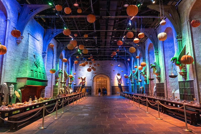 Hogwarts Great Hall at Halloween
