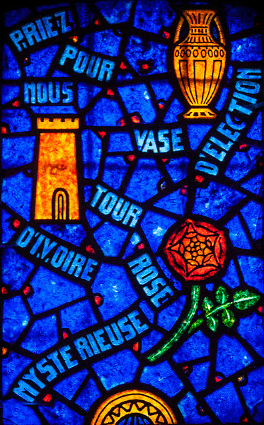 Saint-Etienne-l'Allier, Litany of The Virgin