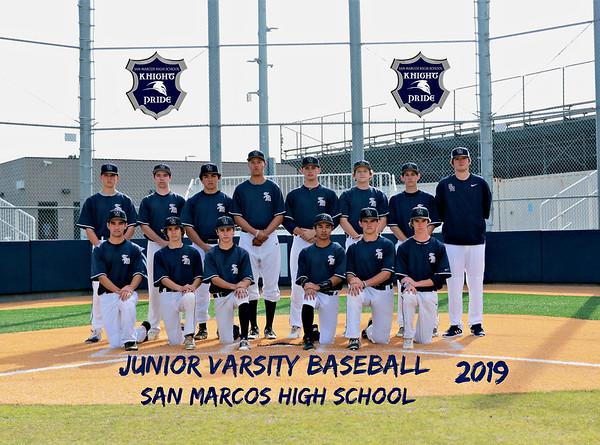 JV Baseball Knights