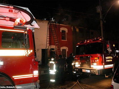 March 3, 2002 - 3rd Alarm - 132 Morse St.