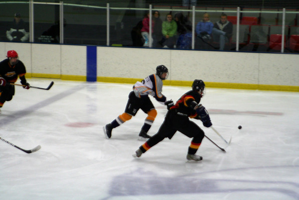 Harrington Havoc at Hatfield Ice Hawks Gold 2-17-2013