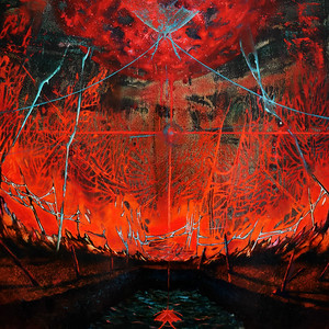 """""""Aren't you afraid to burn out?"""" (oil on paper) by Ekaterina Kovzus"""