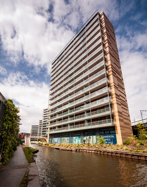 Bridgewater Canal apartment buildings