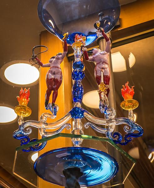 BDSM candelabrum, Venice