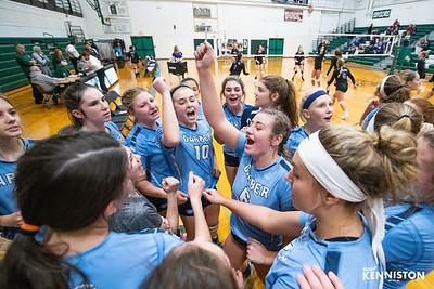 11-6-19 Garber Varsity Volleyball