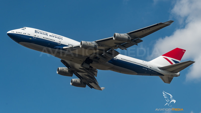 British Airways / B747-436 / G-CIVB / Negus cs