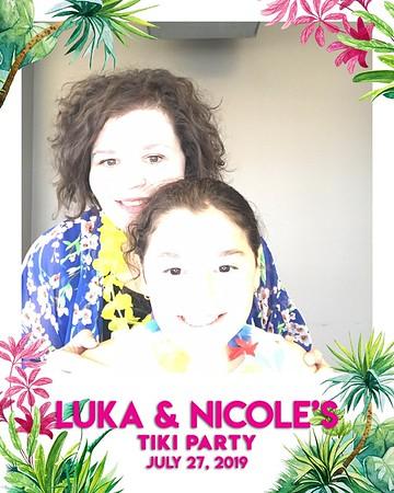 Luka & Nicole's Tiki Party (07/27/19)
