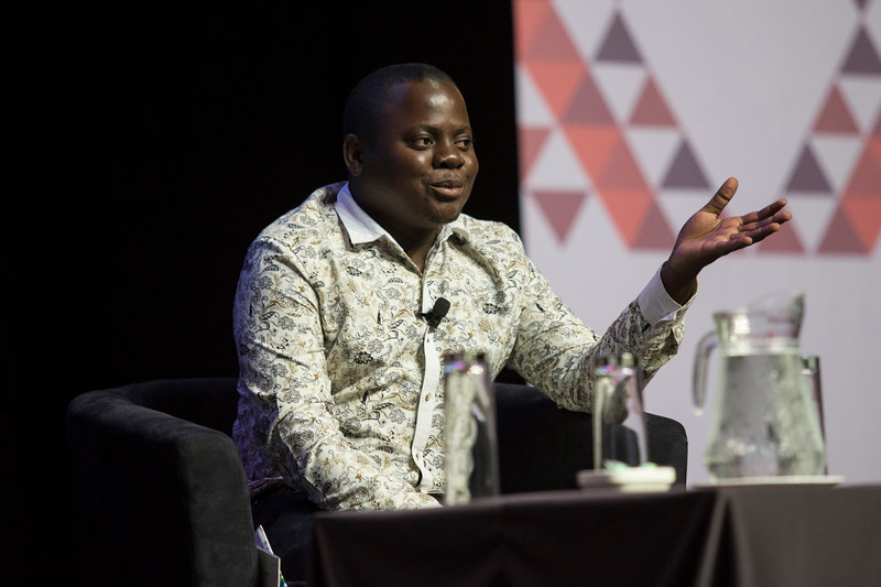 21st International AIDS Conference (AIDS 2016), Durban, South Africa. Special Session (THSS01) Ending AIDS with the Voices of the Youth: How Stigma and Discrimination Affect Key Populations Brian Ssensalire, 21 July, 2016. Photo©International AIDS Society/Rogan Ward