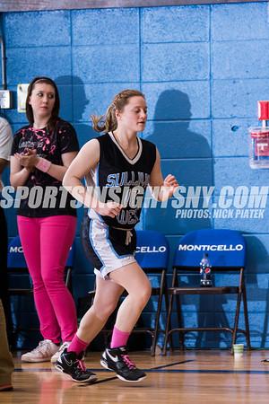 Coaches vs Cancer - Sullivan West vs Tri Valley Girls