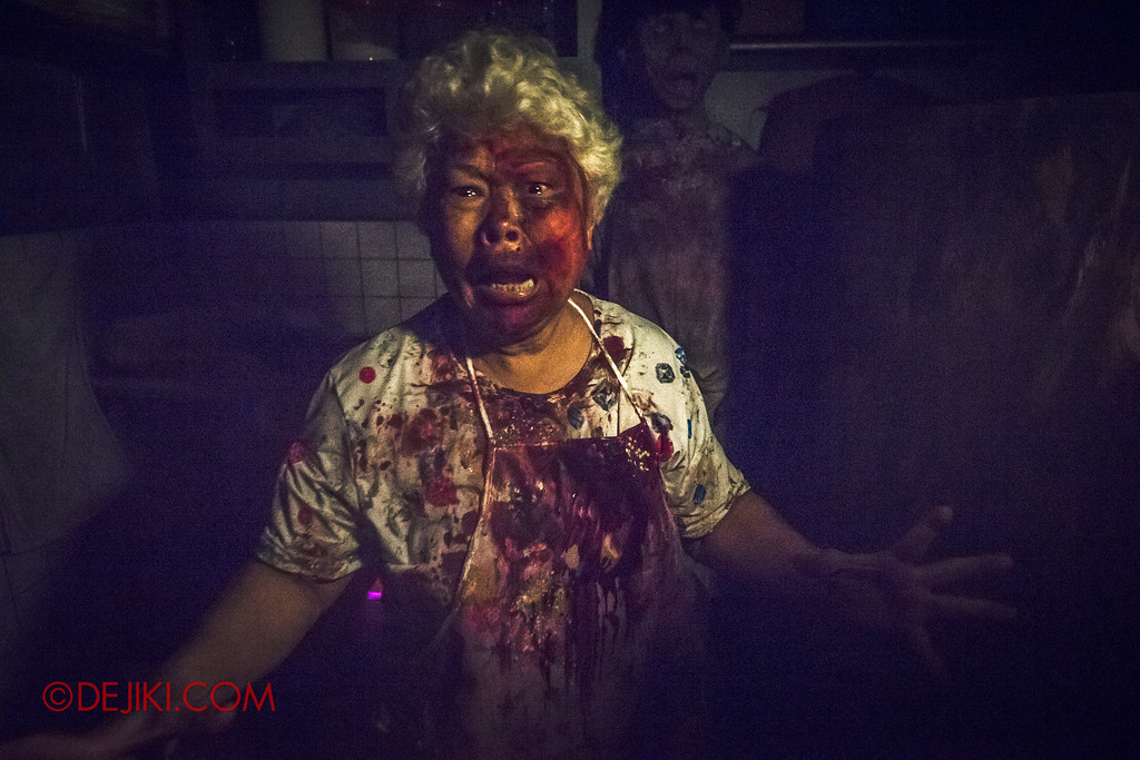 Halloween Horror Nights 6 - Hawker Centre Massacre / Aunty Chicken Rice
