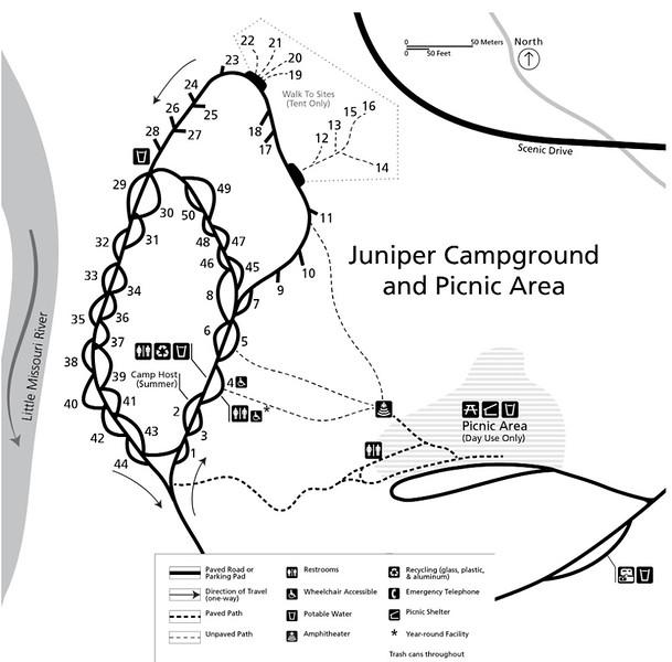 Theodore Roosevelt National Park (Juniper Campground & Picnic Area)