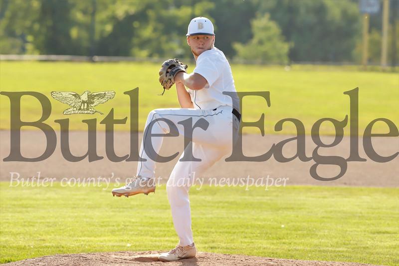 Butler starting pitcher Ryan Lynn. Seb Foltz/Butler Eagle