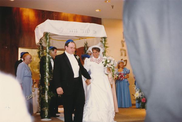 1986 08 David Landys Wedding