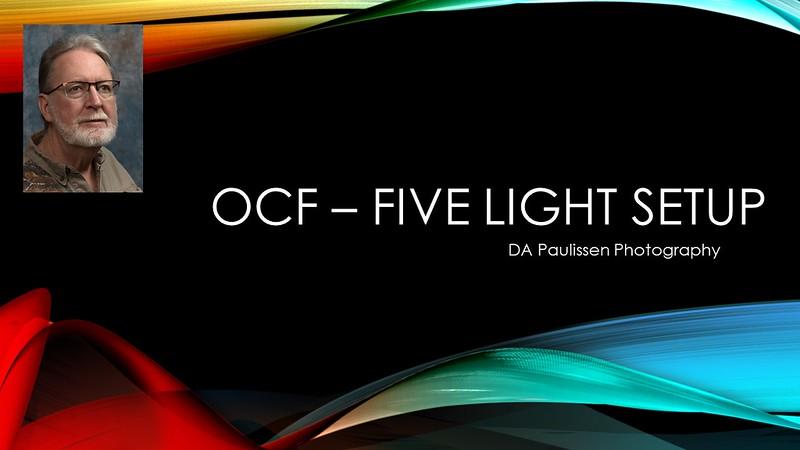 Off Camera Flash - Five Light Portrait