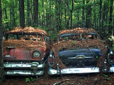 Decaying cars