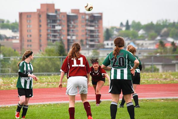 KLDCS Girls Soccer - Timmins Playoff Finals