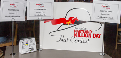2019-10-19 Maryland Million Hat Contest