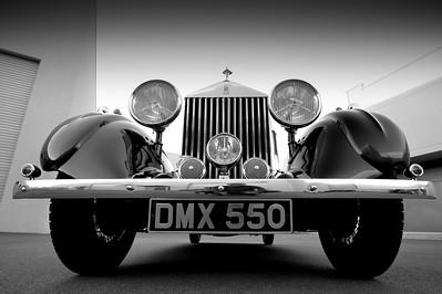 1936 Rolls Royce 20 25 Croall Coupe DMX550
