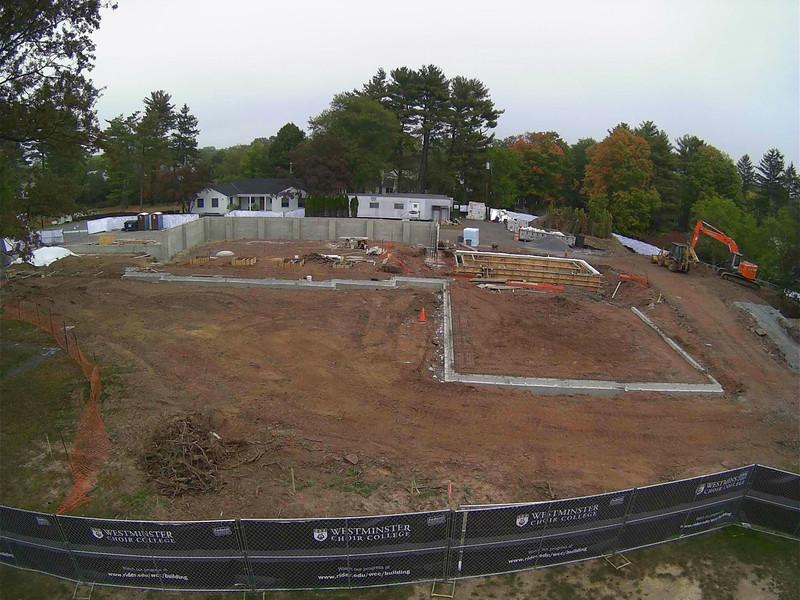 Marion Buckelew Cullen Center Construction October 6, 2013