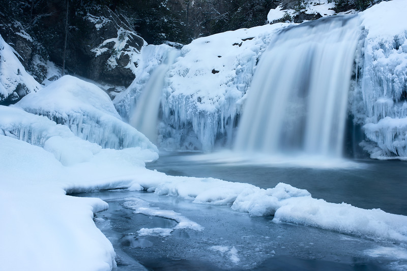 Frozen Twisted Falls