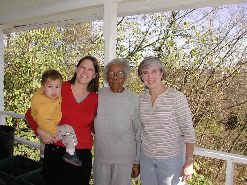 Henry, Emily, Jenny, and Aunt Clara.