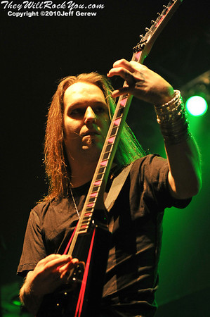 Children of Bodom  <br> November 9, 2010 <br> Main Street Armory - Rochester, NY <br> Photos by: Jeff Gerew