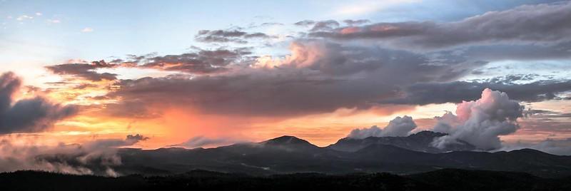 Evening Sky Over Granite Mountain