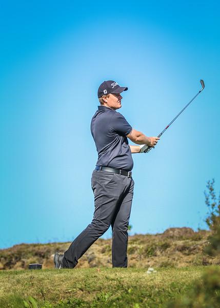 GK, Sveinbjörn Guðmundsson Íslandsmót í golfi 2019 - Grafarholt 2. keppnisdagur Mynd: seth@golf.is